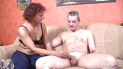 German Mature Cheat Husband with the Neigbor when he on work