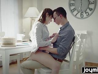 Joymii Horny College Girl Luna Rival Seduces And Fucks Her