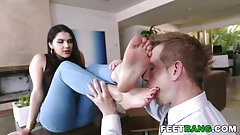 Valentina Nappi Foot And Anal Sex