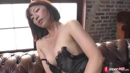 Kanna Harumi with cum on mouth is nailed