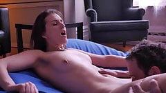 Licking pussy orgasm