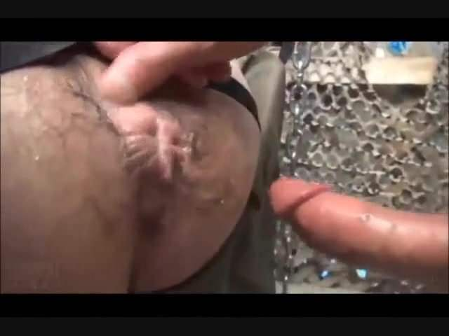 Fetish gay arse felched