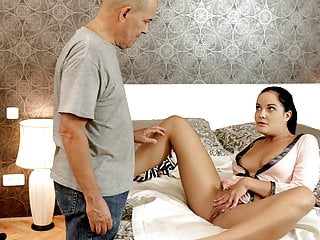 DADDY4K. Super sexy lingerie made him super horny