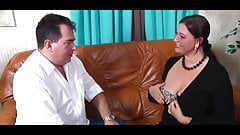 SPERMA ADDICT MONSTER TITS HORNY GERMAN HOUSEWIFE #1 -B$R