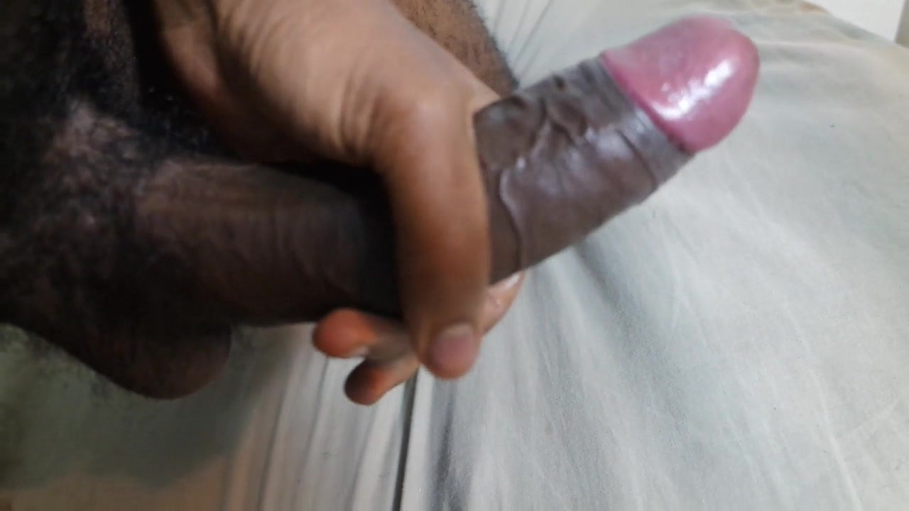 Big dick wanking