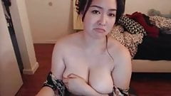 Curvy Asian With Big Natural T