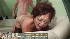 Old slutty teacher first porn casting