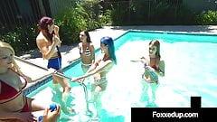 Black Beauty Jenna Foxx Pussy Fucking In Massive 6 Girl Orgy