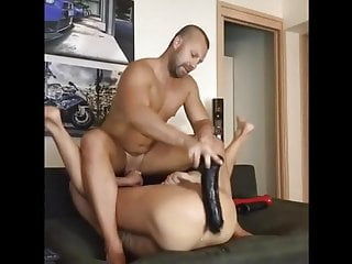 Two hunks and toys
