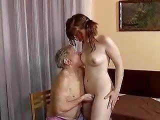 Grandpa does Teenie