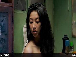 Asian celebrity Zhu Zhu nude and sexy movie scenes