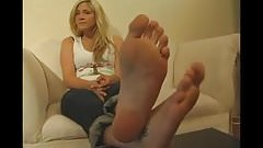 BARE FOOT & Long Toes Feet