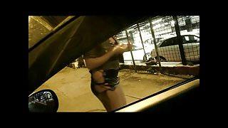 Italian Prostitutes flashing 8