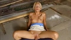 Amateur girlfriend anal fuck with a big cock and facial