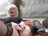 French mature Caroline anal fucked