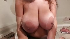 Big tits on hot milf