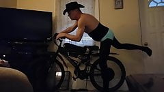mike muters is, Cowboy Mike in, E-Bike pose Cam 2