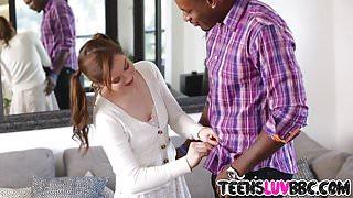 Massive dick for teen Kasey Warner