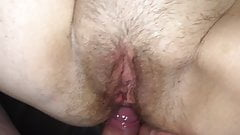 Anal creampie hairy