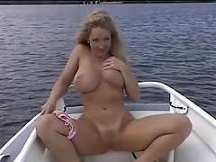 Danni Ashe Takes You On Her Boat