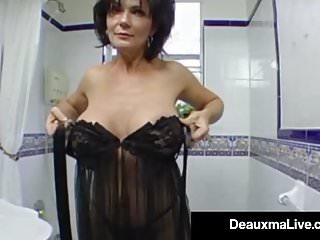 Preview 1 of Stunning Fit Milf Deauxma Gets Ass Banged By Hard Young Stud
