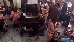 Live stream from dressing room