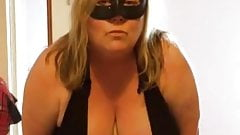 My BBW wife performs for another punter - Part 1