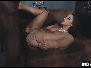 Teen Amirah Adara gets her butt stretched by monster cock