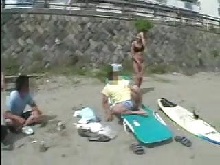 Asian naked in parking , sucks and fucking by voyeurs