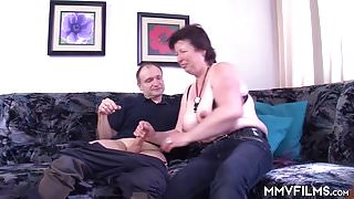 German Mature Amateur Couple