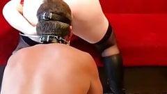 German BBW Mistress and Slave 04