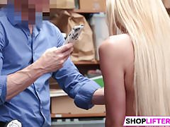 Drilling This Sexy Teen Shoplifter