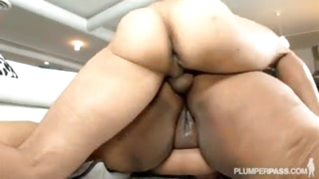 Black ssbbw cotton candi ass