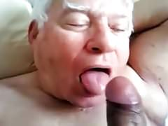 Old men sucking old men