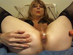 Sexy Tasha Swift Fucks a Carrot Crossdresser