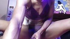 Epische schwarze TS-Füße lutschen selbst vor der Webcam von sharingan98
