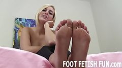 I love it when guys lick my soft little feet