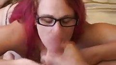 fat punk glasses facial