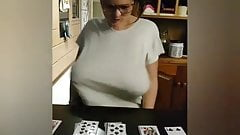 Youtuber - When you forget you have big tits - Braless