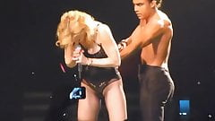 Madonna Live Spent Love in sexy Lingerie