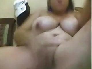 My ex-girlfriend masturbates for a friend in cam 2