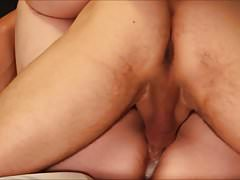 Eager Amateurs Fuck, Both Cum, & Create a Hot Thick Creampie