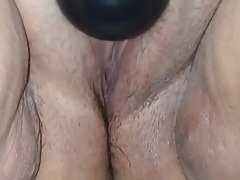Wife orgasms using her wand. Comment for more.