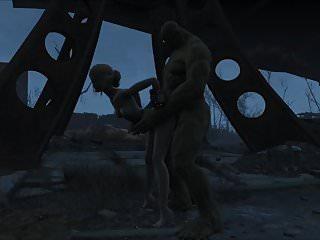 Preview 2 of Fallout 4 Katsu sex adventure chap.5 Supermutant