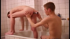Two Friends Caught in Bathroom