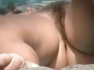 Preview 3 of Nude Beach - Pussy On The Beach