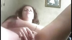 Home made. My wife rubbing her pussy