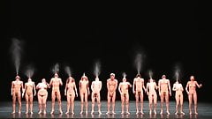 snr art naked dance show 3