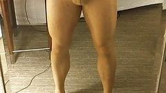 More pantyhose play