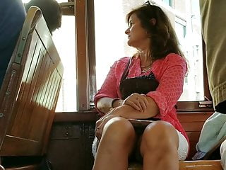Download video bokep Creep Shots mature peaking white panties on street car Mp4 terbaru